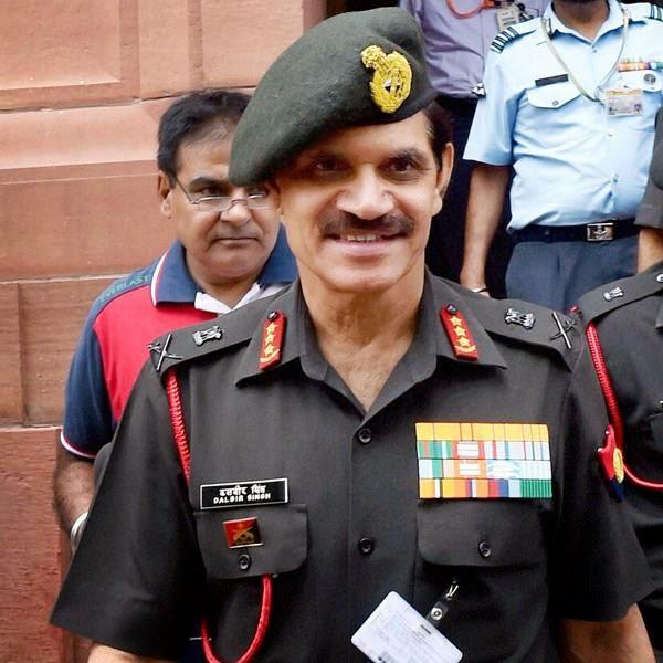 Suhag, whose appointment had kicked up a row, was designated as Army chief in May by the outgoing UPA government ignoring protests from his predecessor Gen VK Singh and BJP.