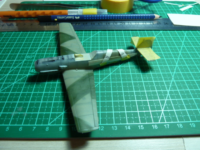 "Messerschmmit Bf 109 E-3 - Major Hans ""Assi"" Hahn P1040030"