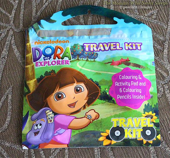 Dora The Explorer Travel Kit - Mommy Peach
