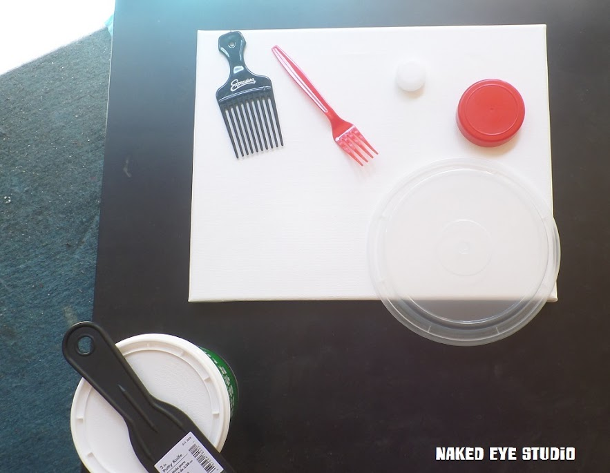 Naked Eye Studio Abstract Painting Supplies