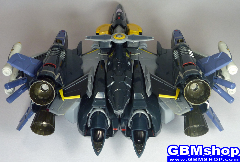 Macross Frontier VF-25S Armored Messiah with Reaction Missiles Fighter Mode Renewal Version