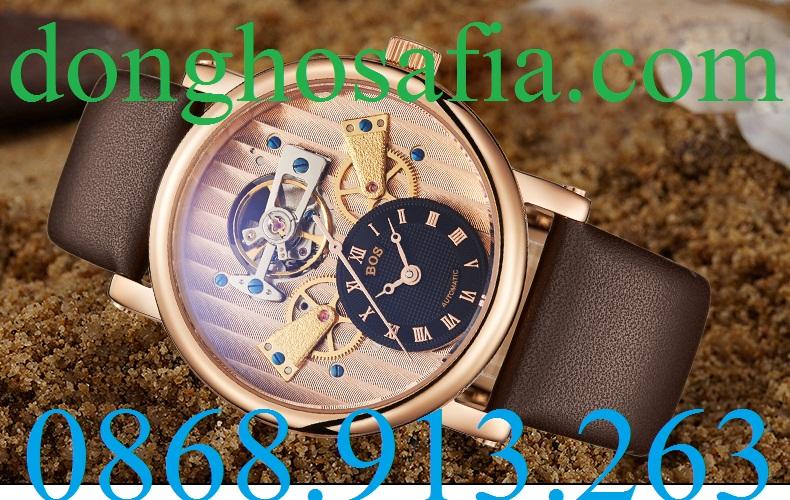 Đồng hồ nam cơ Bos 9006G BS002