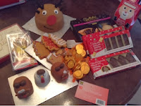 Britmums xmas do goodie bag