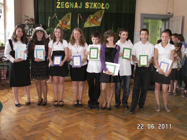 absolwent z klasą