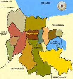 Mapa del Municipio de Naguanagua