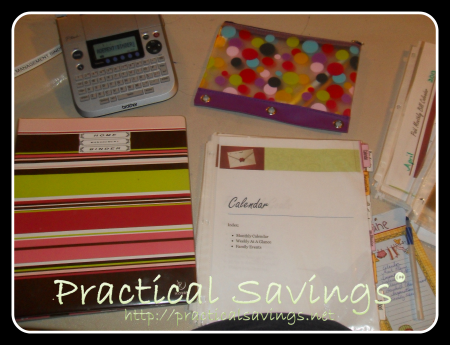 getting it together binder making - practical savings
