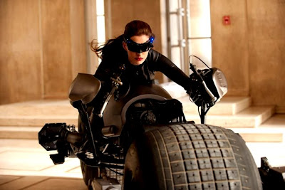 Catwoman with Batpod
