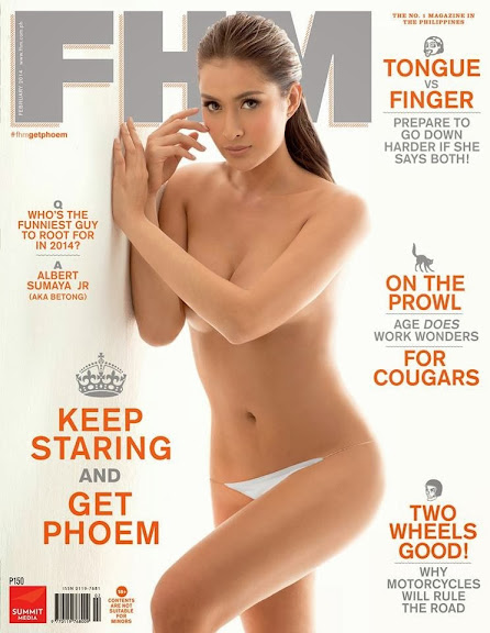 Phoemela Baranda FHM Magazine cover February 2014 10-53