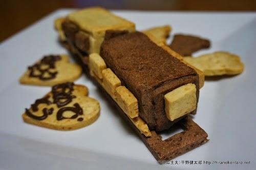 電車のクッキー