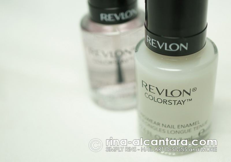 Revlon ColorStay Longwear Nail Enamel - Base Coat and Top Coat