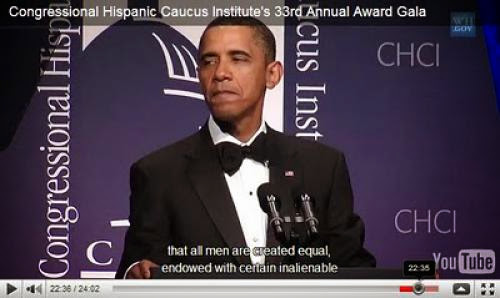 Updated Obama Cant Even Say God At Hispanic Speech Deliberately Omits Creator