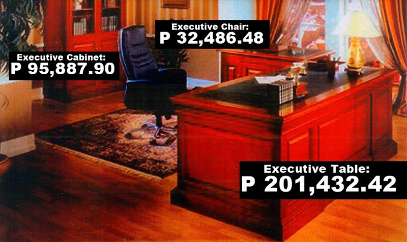 'Overpriced' furniture for Bacolod City Government Center