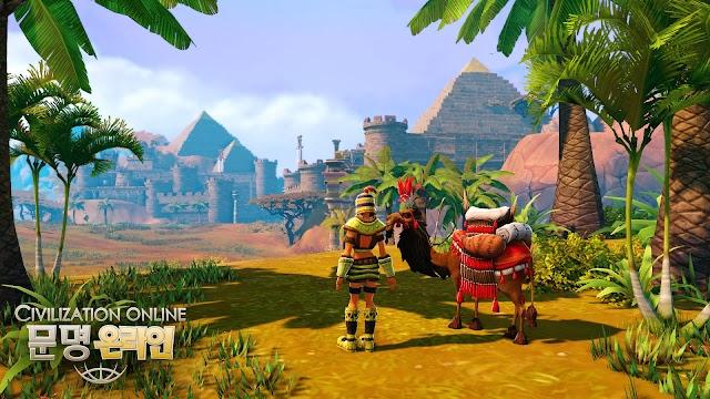 Cận cảnh gameplay của Civilization Online 20