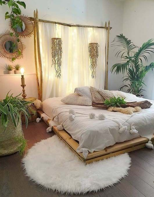 Bring Nature into Couples Retreat Bedroom