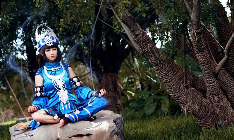 Cosplay Ngũ Độc Giáo ấn tượng của cosplayer Ryotina - Ảnh 4