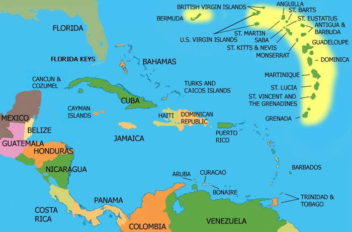 My Thoughts On Technology And Jamaica Jamaica To Adopt National - Map of us and jamaica