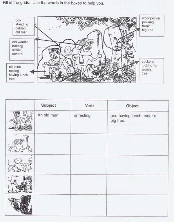 SHARING IS CARING: Suggested Writing Activities For Paper