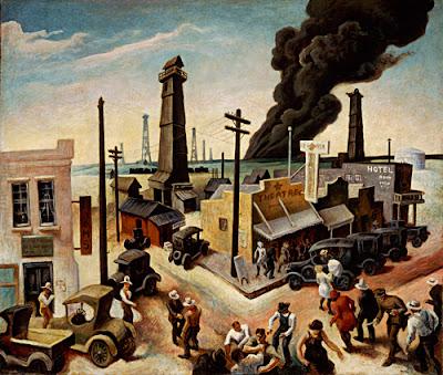 Thomas Hart Benton, American, 1889-1975 - Boomtown