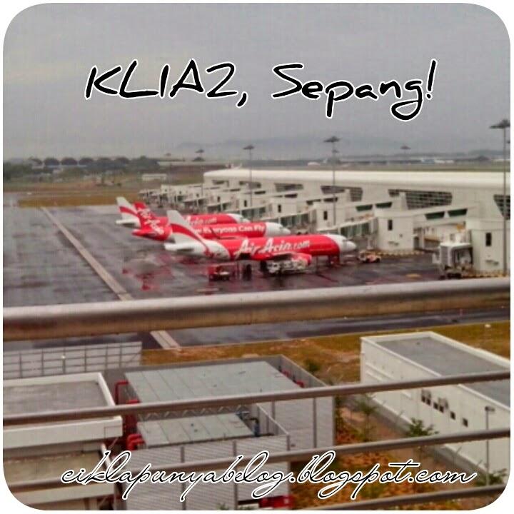 KLIA2, We're come...