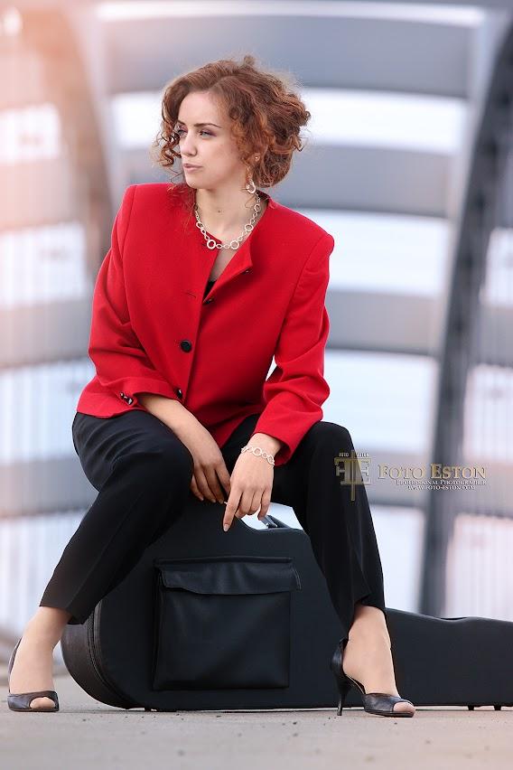 Fotografia z modelką klienta
