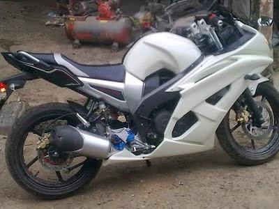 Motor Byson Modifikasi R6