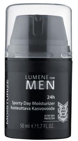 Kem dưỡng da mặt Lumene For Men 50 ml dưỡng ẩm sâu 24h -Mỹ phẩm Nga
