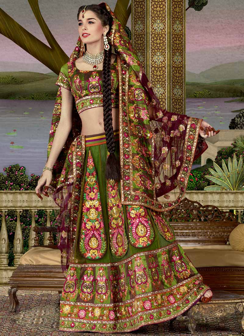 Fashion India: Rajasthani Bridal Lehenga