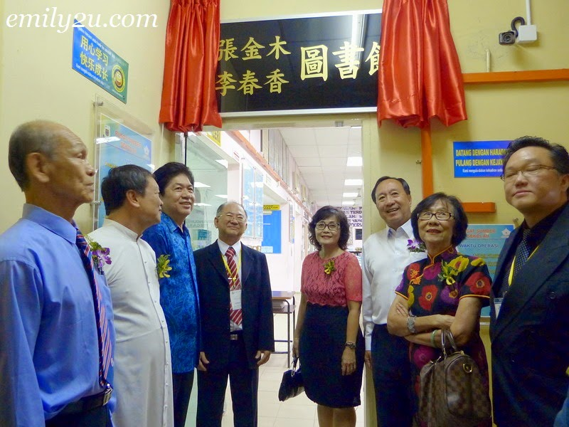 renaming of Sam Tet School library