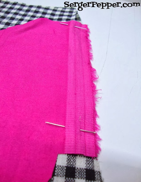 Serger Pepper Add an In-Side-Seam the easy way to any existing pattern - pin