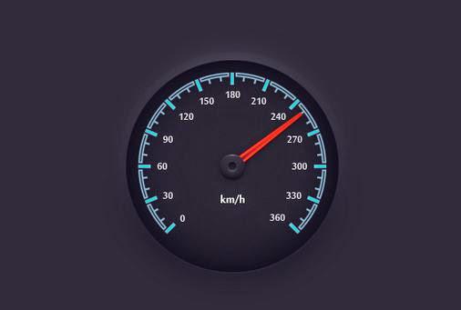 speedometer object