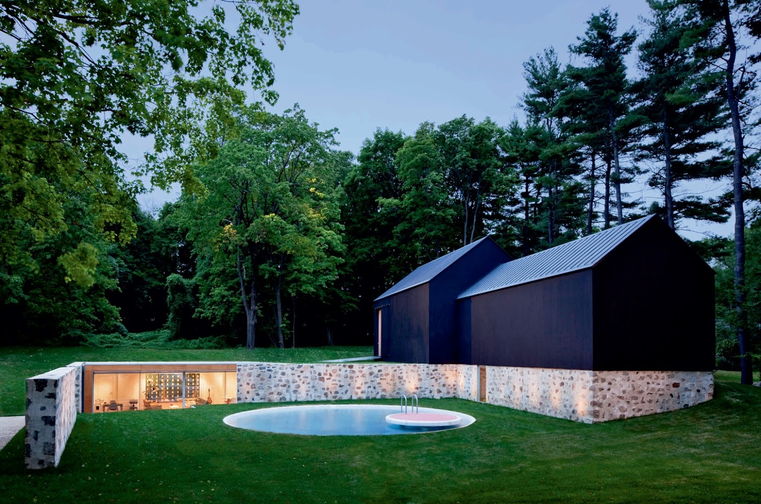 New Canaan, Connecticut, Stati Uniti d'America: [COUNTRY ESTATE BY ROGER FERRIS + PARTNERS]