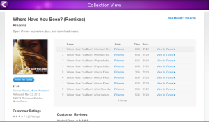 iTunes Search v2.0