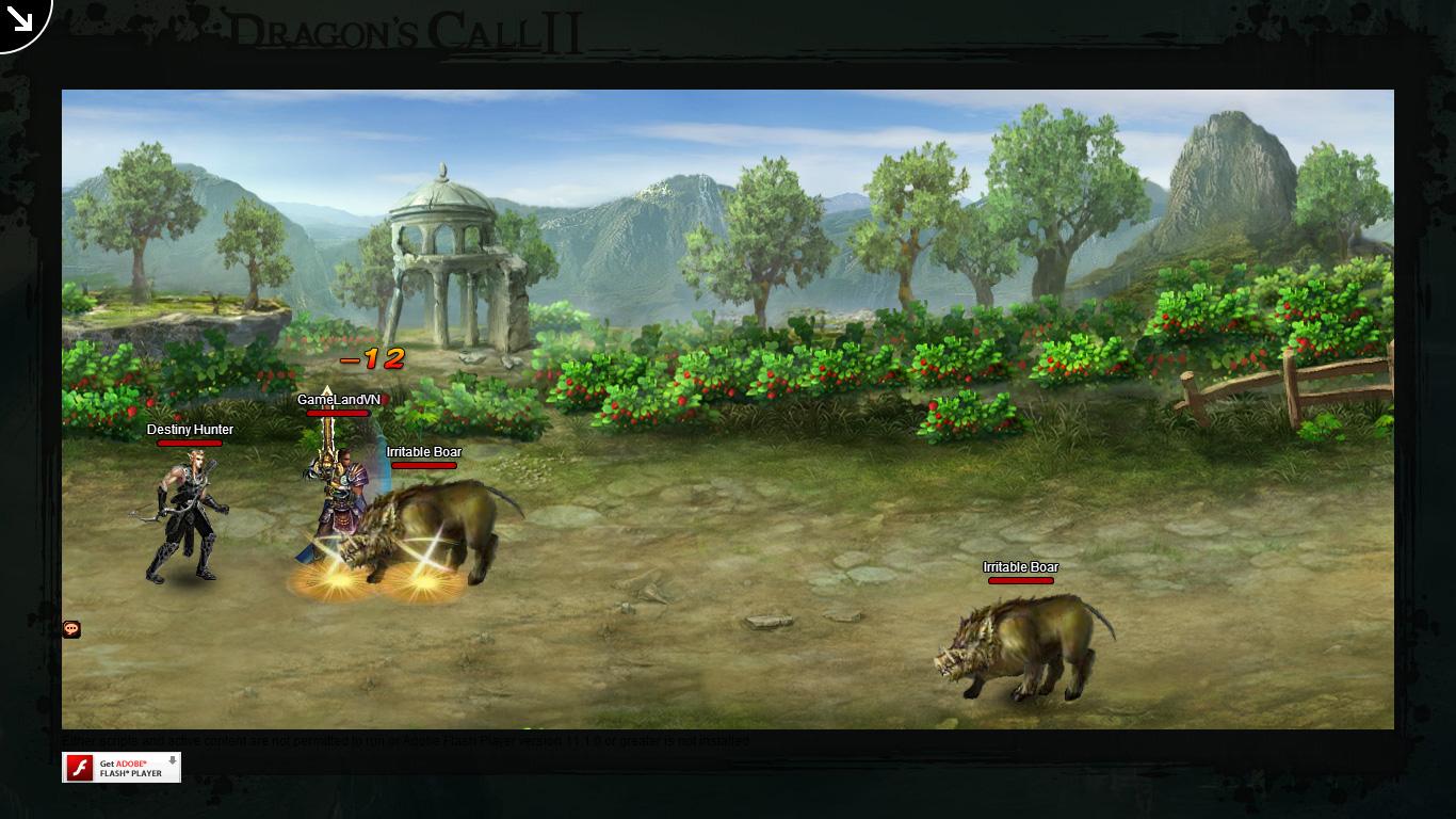 Một số hình ảnh về webgame Dragon's Call 2 - Ảnh 22