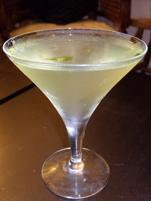 Fennel Basil Martini