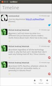 Lo que puede llegar a ser Gwibber en Ubuntu