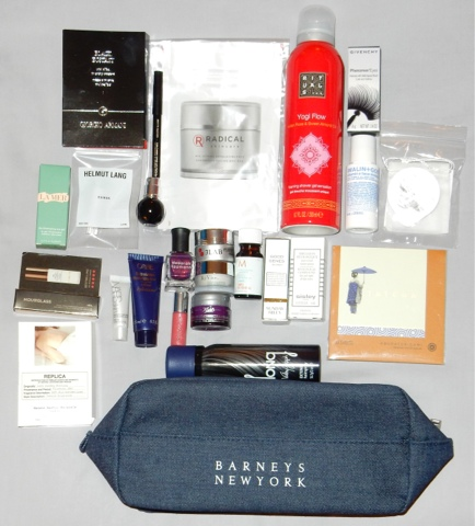 Great gift bag with tons of items at the Braneys New York Beauty Event