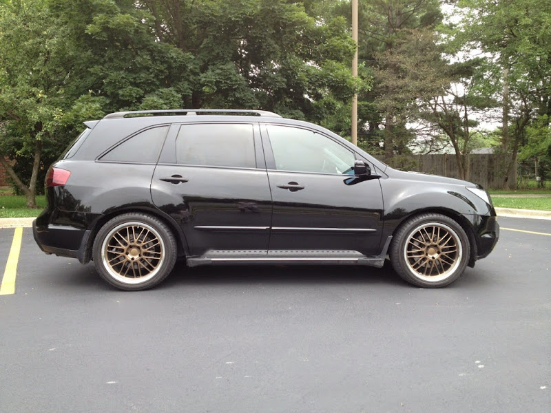 CONFIRMED MDX Lowered On Odessey Springs AcuraZine - Acura rdx lowering springs