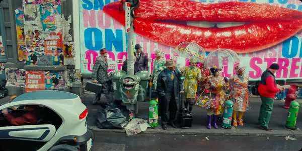 Screen Shot Of Hollywood Movie The Zero Theorem (2013) Download And Watch Online Free at alldownloads4u.com
