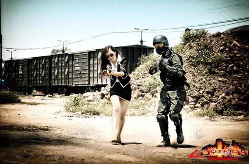 Game thủ Việt tung ảnh cosplay về Đột Kích 7