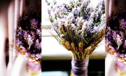 shop hoa đà nẵng - hoa cưới màu tím