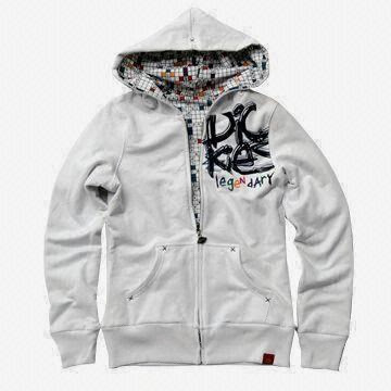 Jaket hoody bahan fleece