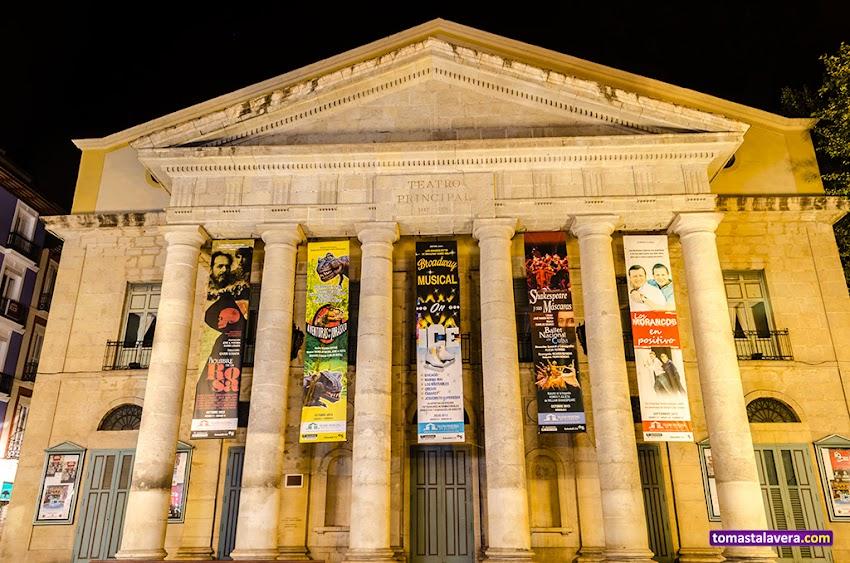 Nikon D5100, 18-55 mm, Edificios y Monumentos, Teatro Principal, Alicante, Nocturnas, Urbana,