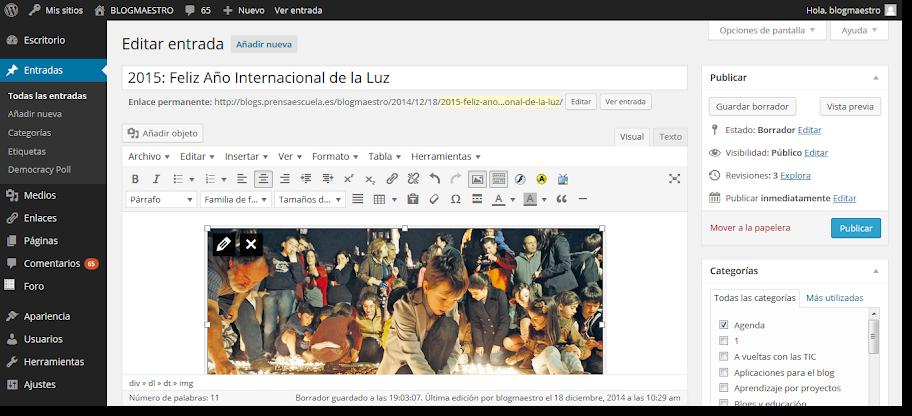 BLOGMAESTRO » Complemento Manual WordPress