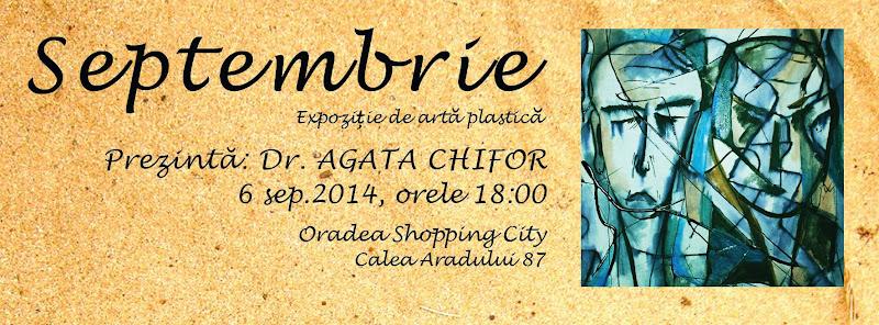 Septembrie, expoziţie de artă plastică la OSC #1