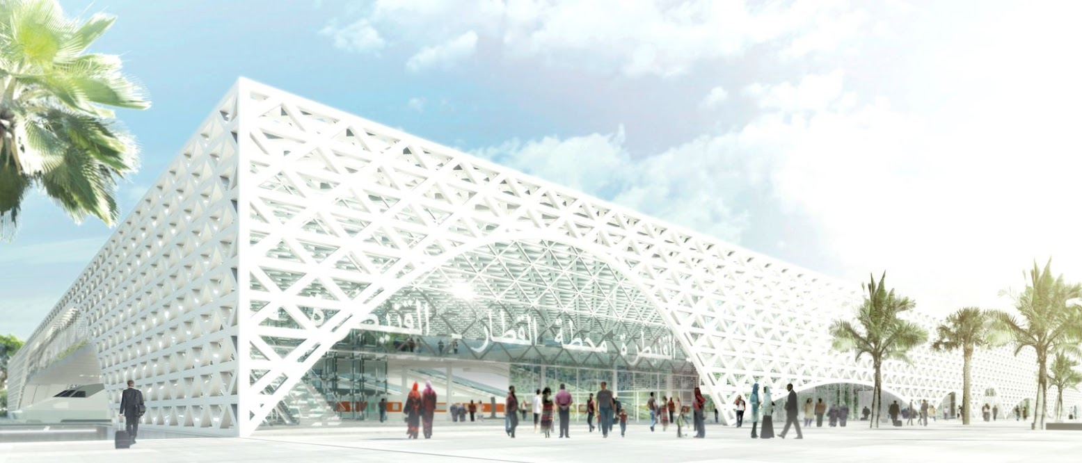 Kenitra, Marocco: [SILVIO D'ASCIA WINS NEW HIGH-SPEED RAILWAY STATION COMPETITION]