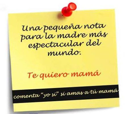 Mensaje dia de la madre Feliz dia