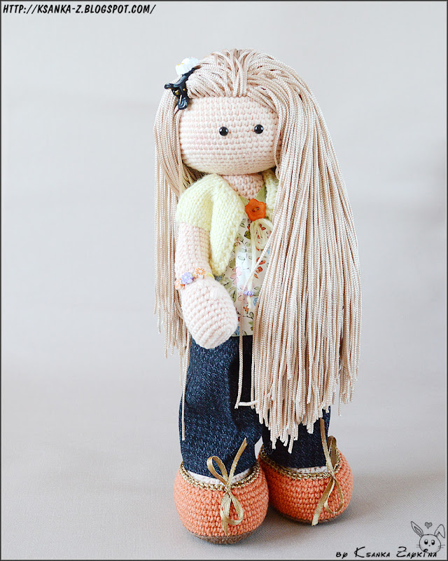 Амигуруми, вязаные игрушки, вязаная кукла, вязаная снежка, Amigurumi, crocheted toys, crochet doll