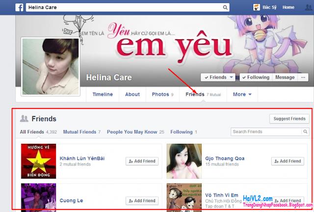 Lấy lại tài khoản facebook khi quên