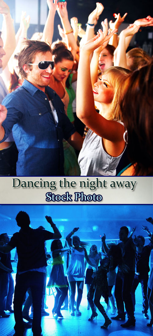 Stock Photo: Dancing the night away