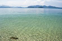 ความใสสะอาดของเกาะหวาย